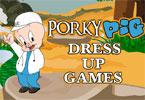 Porky Pig Dressup Game