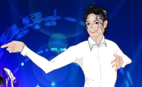 Dress up Michael Jackson